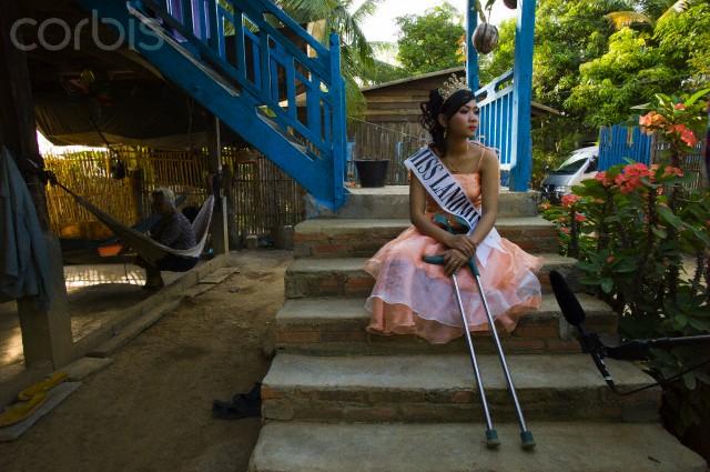 Miss Landmine pageant winner cambodia