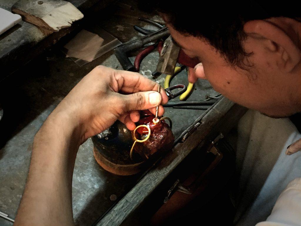 gemstone setting cambodia