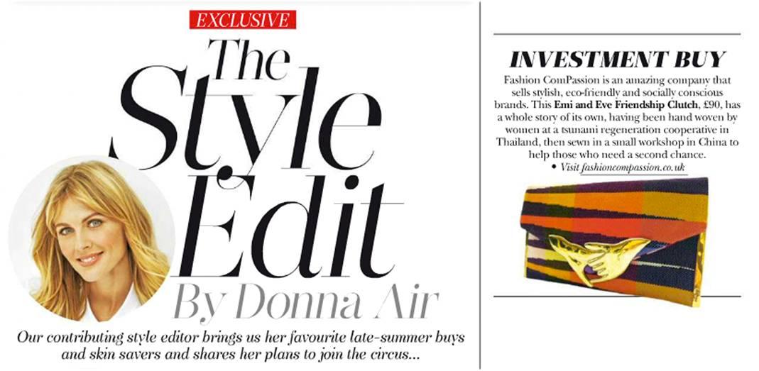 hello magazine Emi & Eve article