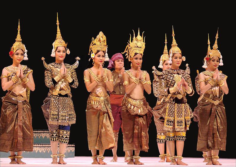 cambodian royal ballet dancers