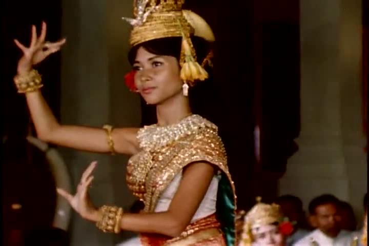 cambodian dancer 1960s