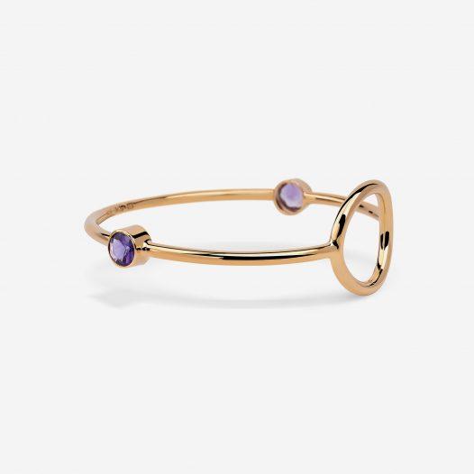 unity bracelet amethysts