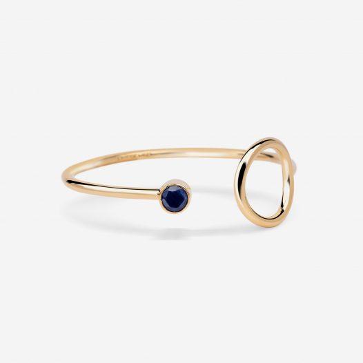unity bracelet with sapphire